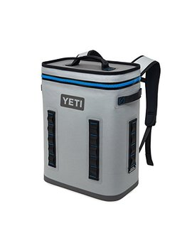 Yeti Hopper Back Flip 24 Soft Sided Cooler/Backpack, Fog Gray by Yeti