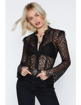 Uptown Girl Lace Top by Nasty Gal