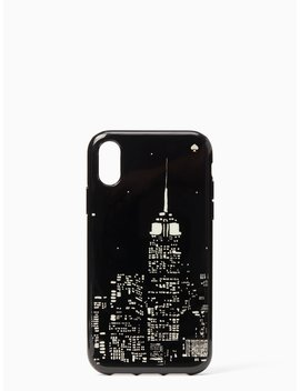 Glow In The Dark Skyline Iphone Xr Case by Kate Spade
