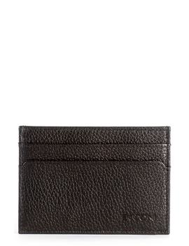 Garth Leather Id Card Case by Boconi
