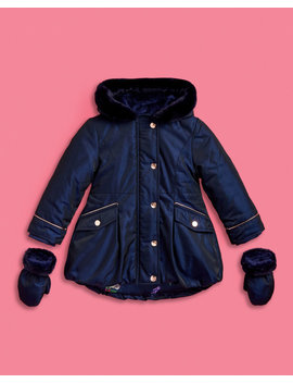 Bow Detail Parka by Ted Baker