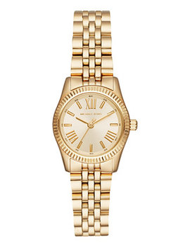 Women's Lexington Gold Tone Stainless Steel Bracelet Watch 26mm by Michael Kors