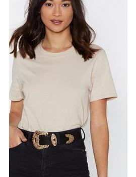 River Valley Faux Leather Belt by Nasty Gal