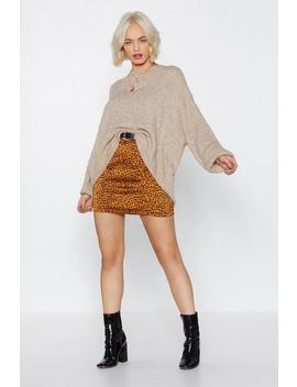 Give It Up Oversized Sweater by Nasty Gal