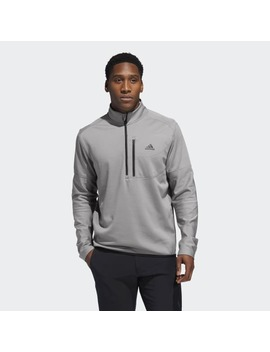 Climawarm Gridded 1/2 Sweatshirt by Adidas