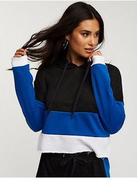 Color Block Hoodie by Charlotte Russe