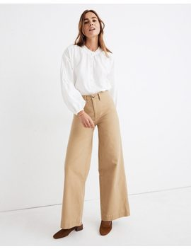 Emmett Wide Leg Pants by Madewell