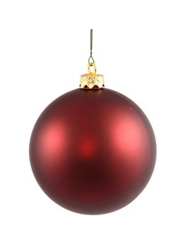 The Holiday Aisle Uv Drilled Ball Cap Ornament by The Holiday Aisle
