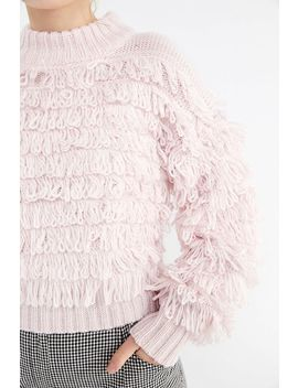 Uo Layla Looped Mock Neck Sweater by Urban Outfitters