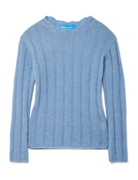Carolee Ribbed Mohair Blend Sweater by M.I.H Jeans
