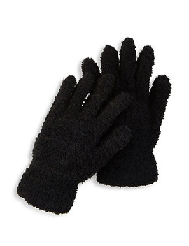 Fuzzy Knit Gloves by Rainbow