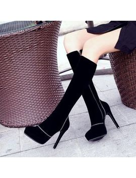 Pangmama   High Heel Knee High Boots by Pangmama