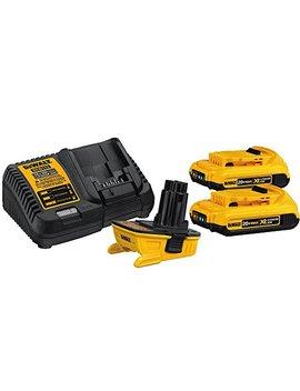 Dewalt Dca2203 C 20 Volt Max Battery Adapter Kit For 18 Volt Tools by Dewalt