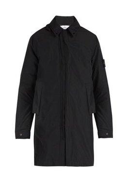 Zip Through Hooded Coat by Stone Island