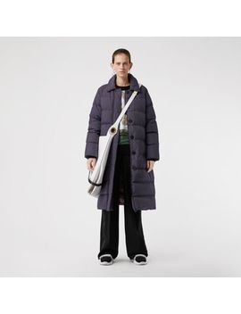 Belted Long Down Filled Puffer Coat by Burberry