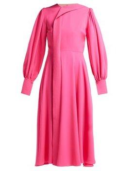 Adyn Silk Georgette Midi Dress by Roksanda