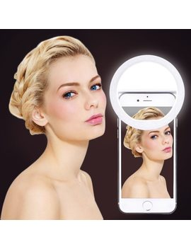 New Arrive Usb Charge Selfie Portable Flash Led Camera Phone Photography Ring Light Enhancing Photography For I Phone Smartphone by Fghgf