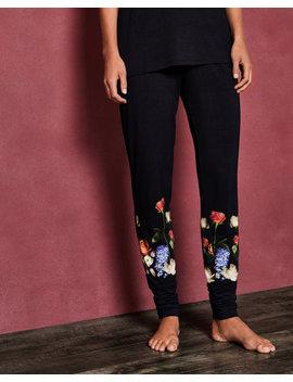 Kensington Floral Jersey Pyjama Bottoms by Ted Baker