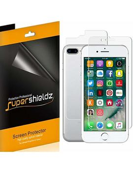 Supershieldz For Apple I Phone 8 Plus / I Phone 7 Plus [Front + Back] Full Body Screen Protector, [3 Front And 3 Back] Anti Bubble High Definition Clear Screen Shield  Lifetime Replacements Warranty by Supershieldz