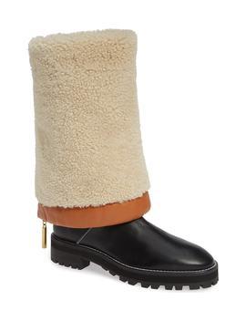 Renata Genuine Shearling Boot by Stuart Weitzman