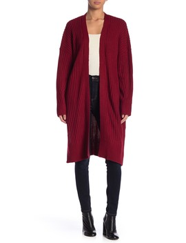 Ribbed Knit Duster Cardigan by Lush