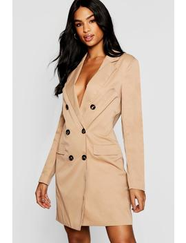 Tall Utility Blazer Dress by Boohoo