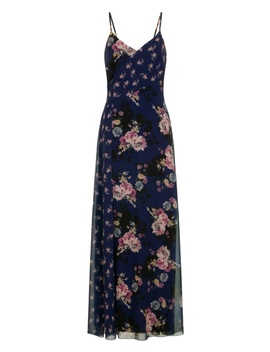 **Little Mistress Multi Coloured Chiffon Maxi Dress by Dorothy Perkins