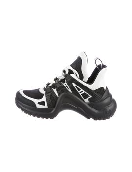 Archlight Leather Trainers by Louis Vuitton