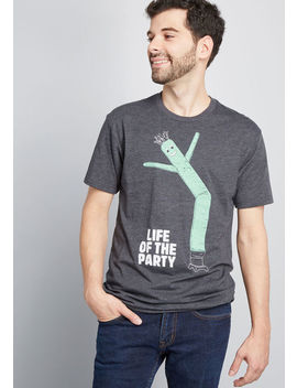 Life Of The Party Men's Graphic Tee by Modcloth
