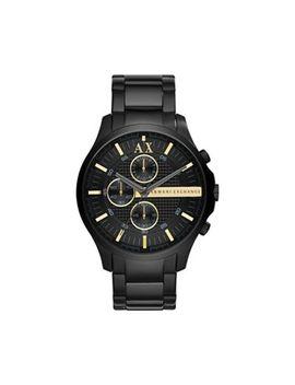 Armani Exchange   Mens Black Chronograph Bracelet Watch Ax2164 by Armani Exchange