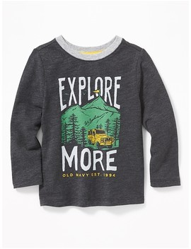 Logo Graphic Tee For Toddler Boys by Old Navy