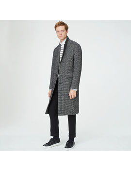 Houndstooth Topcoat by Club Monaco