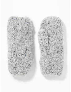 Bouclé Mittens For Women by Old Navy