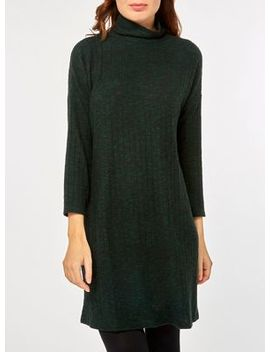 Dorothy Perkins   Green Brushed Jumper Dress by Dorothy Perkins