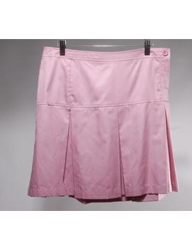 Nwt Tocca Violet Twill Cotton Pleated Mini Skirt Size 6 by Tocca