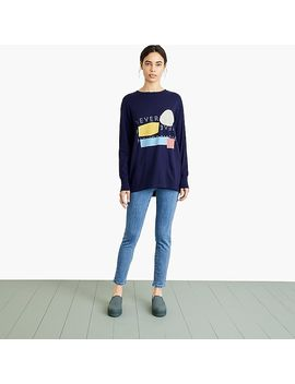 Nevereven Logo Print Skater T Shirt by J.Crew