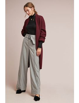 Hayworth Cuffed Trousers by Cartonnier