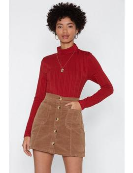 Hung Up Turtleneck Top by Nasty Gal