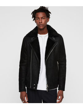 Myres Shearling Jacket by Allsaints