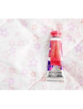 Brand New L'occitane Arlesienne & Almond Hand Creams 2 X 10ml + Pink Pouch by L'occitane
