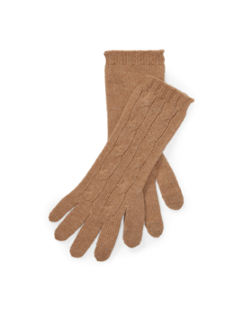 Cashmere Blend Tech Gloves by Ralph Lauren