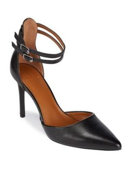 Ankle Strap Point Toe Heels by H Halston