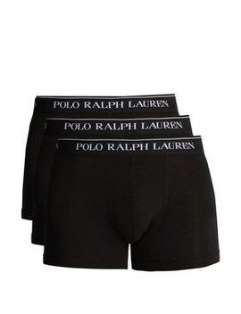 Set Of Three Cotton Blend Boxer Briefs by Polo Ralph Lauren