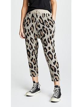 Cashmere Leopard Pants by R13