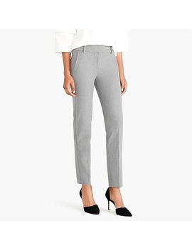 Petite Effortless Slim Crop Pant by J.Crew