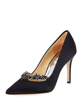 Venetia Embellished Evening Pumps by Badgley Mischka