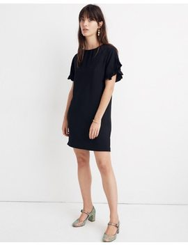 Memento Ruffle Sleeve Dress by Madewell