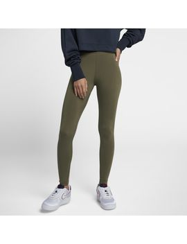 Nike High Waisted Futura Logo Leggings by Foot Locker