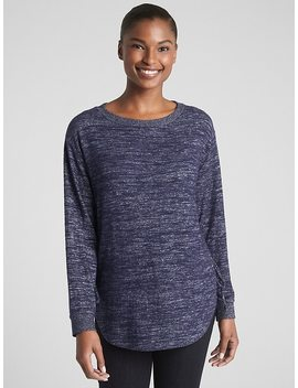 Softspun Long Sleeve Lace Up Tunic by Gap