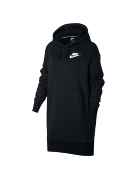 Nike Rally Ribbed Hoodie Dress by Foot Locker